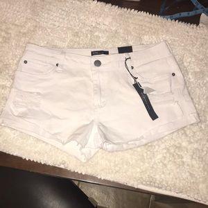 STS Blue Raw Hem Distressed Jean Shorts 29